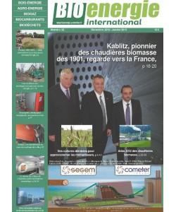 No 22 - déc/jan. 2013 - Bioénergie International