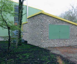 Bâtiments du silo, de la chaufferie et du groupe d'absorption