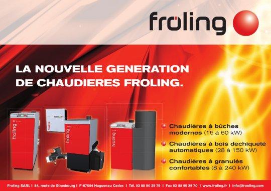 Chaudières à bois Fröling de 8 à 400 kW