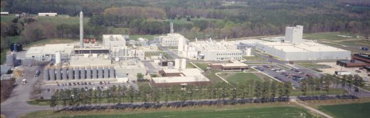 Usine de fermentation Novozymes  à Franklinton aux Etats-Unis