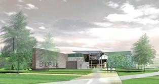 Le biopôle de Angers va produire du biogaz à partir des déchets ménagers