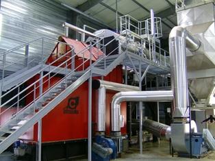 Les Papeteries de Giroux rénovent leur chaufferie biomasse