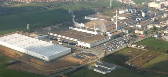 Une chaudière bois Weiss-France de 10 MW à l'usine Michelin de Cholet