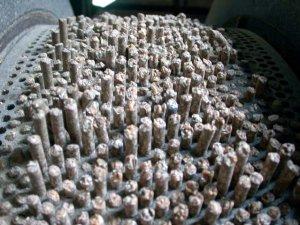 Détail presse à granulés