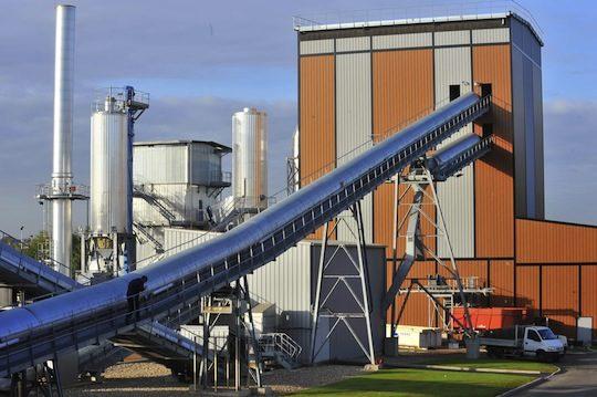 La chaufferie biomasse de Cergy-Pontoise