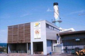 La chaufferie biomasse du réseau de chaleur de Dole dans le Jura