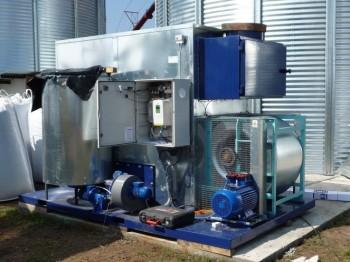 Sécher des céréales avec de la biomasse