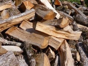Bûches de chêne en vrac, ONF Energie
