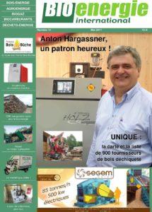Magazine Bioénergie international, couverture numéro R14