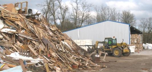 Plateforme de recyclage, photo Frédéric Douard