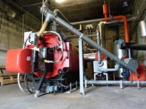 L'exploitation et la maintenance d'une chaufferie au granulé de bois