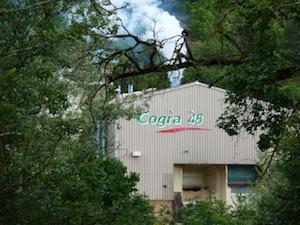 L'usine de Cogra 48 à Mende, photo Frédéric Douard