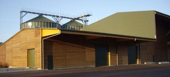 Les installations de cogénération et granulation de Moulin Bois Énergie