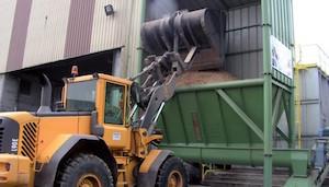 Alimentation de la chaine de granulation, photo AILE