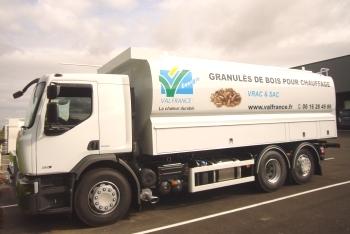 Camion souffleur Valfrance