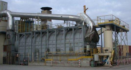 Chaudière à biomasse Maguin de la coopérative SIDESUP à Engenville, photo Frédéric Douard