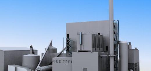 Présentation 3D de la centrale de cogénération de Rothes, Écosse