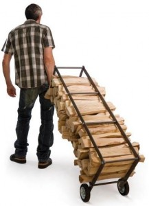 Lance une boutique d accessoires du chauffage au bois magazine - Stockage bois de chauffage interieur ...