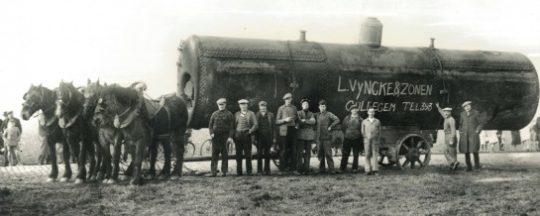 Chaudière Vyncke au début du vingtième siècle