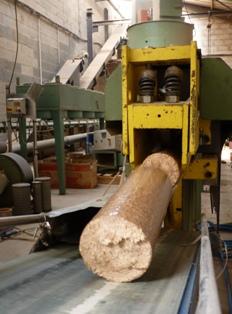 CIMAJ, une entreprise qui a développé la bûche densifiée en France