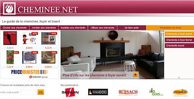 Canop lance le site cheminee.net