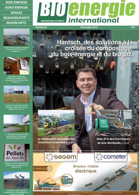 Bioénergie International n°21 – Novembre 2012