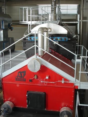 La laiterie CANDIA de Cambrai-Awoingt produit 100% de sa vapeur au bois