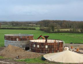 Deux nouvelles unités de méthanisation en construction en Poitou-Charentes