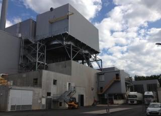 La centrale biomasse d'Orléans, photo Scaldis