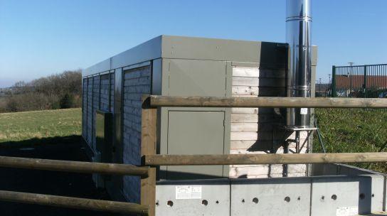 Carrouges choisit la chaufferie bois en conteneur de la - Chambre agriculture orne ...