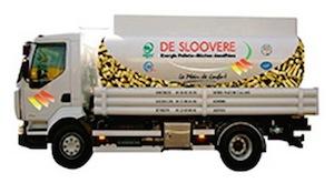 Camion Transmanut à granulés des Ets De Sloovere