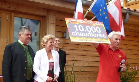 Hargassner-France vient de vendre sa 10 millième chaudière à bois