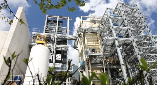 Centrale biomasse de Orléans Sud La Source, photo Dalkia