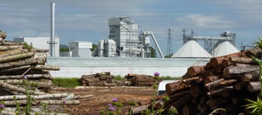 Leroux & Lotz réalise la chaudière biomasse de la centrale de Pierrelatte