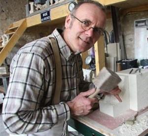 Marino Manca, tailleur de pierre