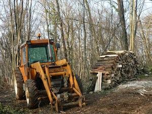 Les producteurs français de bois de chauffage contre l'augmentation de la TVA