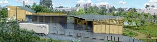 Projet de chaufferie bois Le Havre Nord Ouest