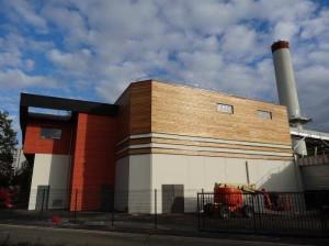 La chaufferie de Rouen-Canteleu équipée de deux chaudières Vyncke 6 + 8 MW, photo Vyncke