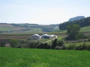L'installation de cogénération à partir de biogaz