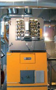 La chaudière Schmid de 1200 kW