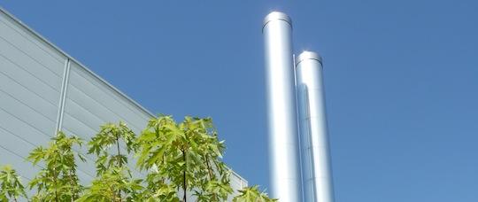 Les chaudieres automatiques permettent de reduire considerablement les emissions de la combustion du bois, photo Frédéric Douard