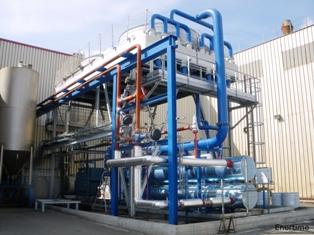 Module de cogénération biomasse ORC de Enertime