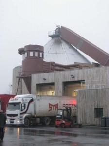 Visite à la centrale de cogénération au bois de Rennes