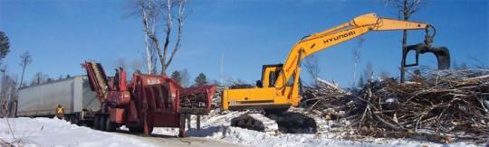 Exploitation de bois-énergie en Ontario