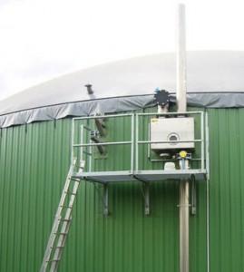 Régulateur de pression ÜU-TT, photo Biogaskontor