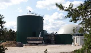 Brogas, Suède, 42000 tonnes, 25 GWh de biométhane, photo Xergi