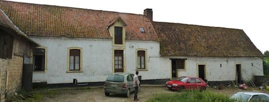 La maison typique boulonnaise de Thierry Compiègne, photo Frédéric Douard