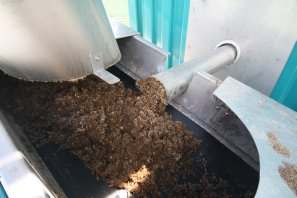 Sortie de BIOaccelerator S, photo BTS Biogas