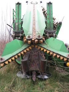 Tête de récolte pour TCR, photo Popfull