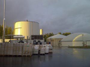 Installation de méthanisation d'Etampes, Bionerval (Saria)